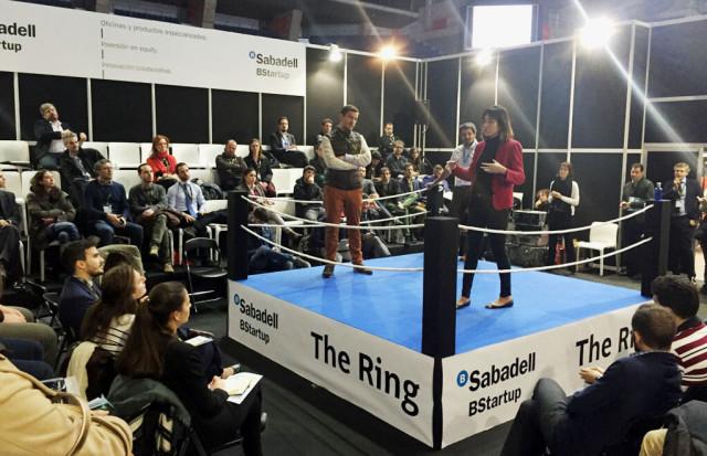 #TheRing en #SME2016 enfrentamientos pitch